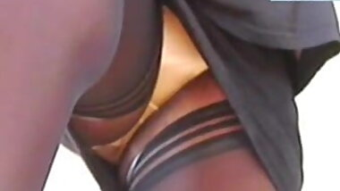 Silky Panties Flash