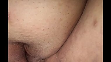 Up close pussy play