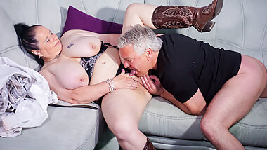 AmateurEuro - German BBW Wife Abby Titts Rides Her Neighbor
