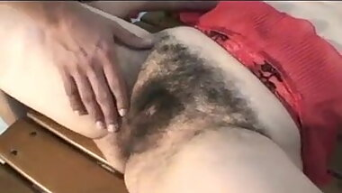 Extremely Hairy Granny Get a Hard Fucking