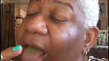 Luenell with her big mouth
